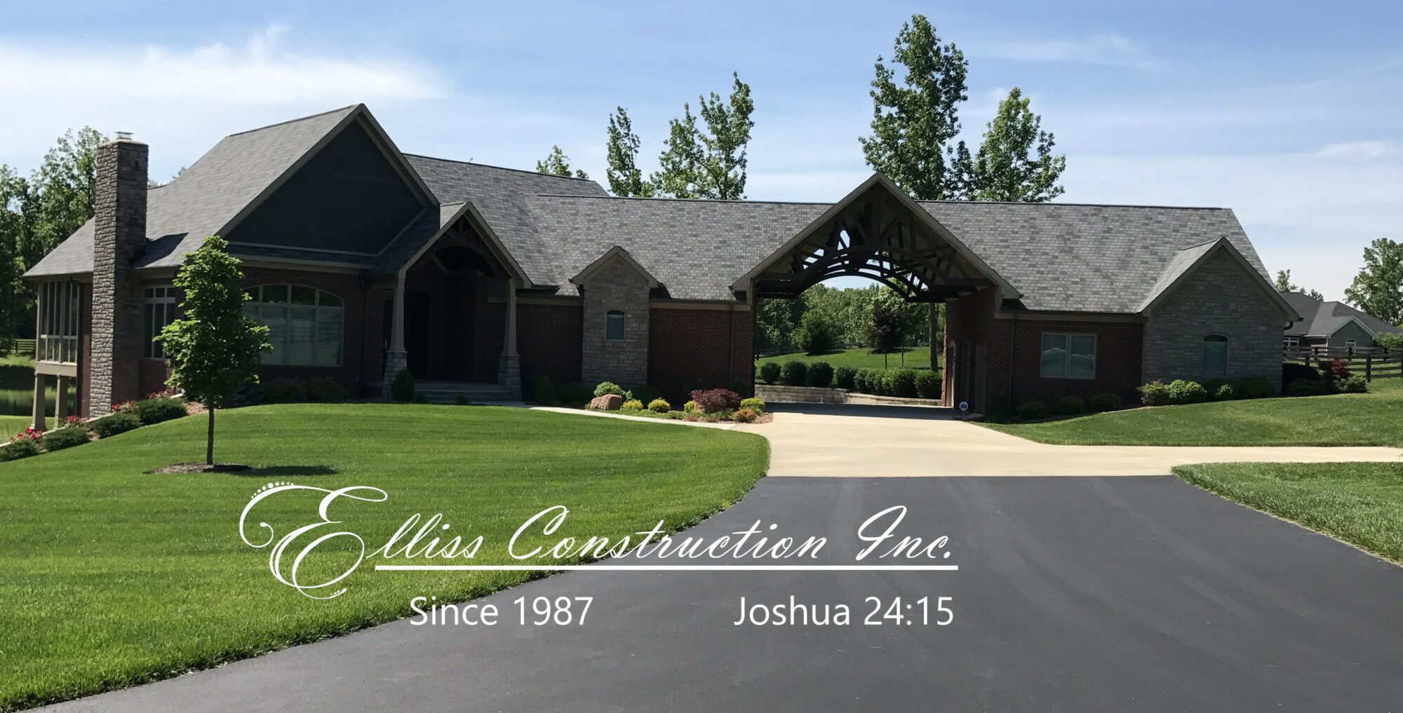 Elliss Construction, Inc   /   Joshua 24:15